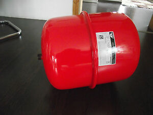 50 L Ausdehnungsgefäß Druckausdehnungsgefäß für Heizung 50 Liter farbe rot Neu
