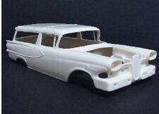 Jimmy Flintstone 1/25 1958 Edsel Roundup Wagon Body& Tail Lights& Rear JIMNB313