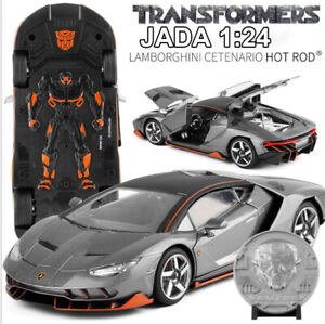 Jada 1 24 Transformers 5 Lamborghini Centenario Hot Rod Car Model
