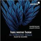 Ensemble Horizonte - Hans Werner Henze (In lieblicher Bläue, musik für ensemble, 2012)
