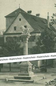Eichstätt - Kriegerdenkmal - Ortsansicht - um 1920          W 23-2