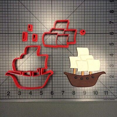 Pirate Ship 266-267 Cookie Cutter Set