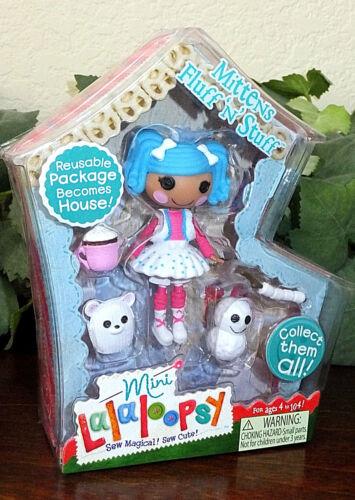 Mini Lalaloopsy Doll Mittens Fluff n Stuff Girls Play Set #3 First Edition NIP