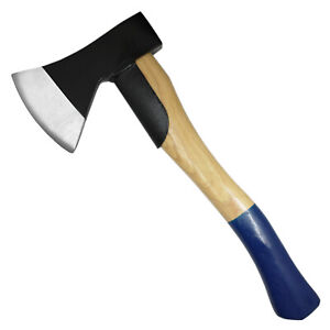 Beil-600g-mit-Hickorystiel-32cm-mit-Stielschutz-Holzspalter-Kamin-Axt-Spaltbeil