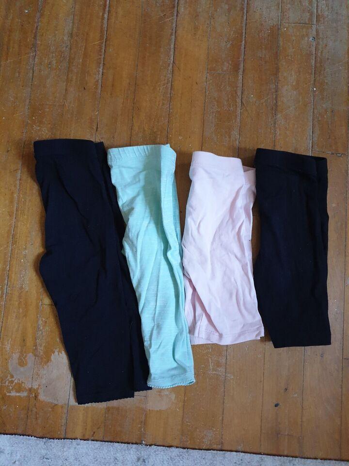Blandet tøj, 3/4 gamacher og cykel shorts, HM