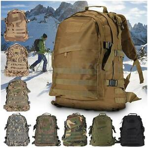 Image is loading 50cm-40L-Molle-3D-Tactical-Outdoor-Military-Rucksack- 5e4a3ceda7d42