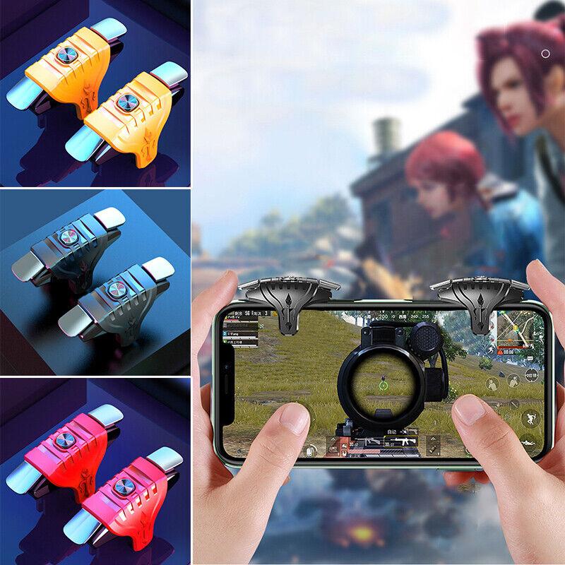 1 Pair Mobile Trigger Smartphone Gamepad Controller Gaming Shooter for P.ji