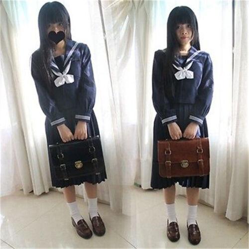 Vintage Japanese JK Uniform Shoulder Bag School Bookbag Backpack Cosplay Handbag