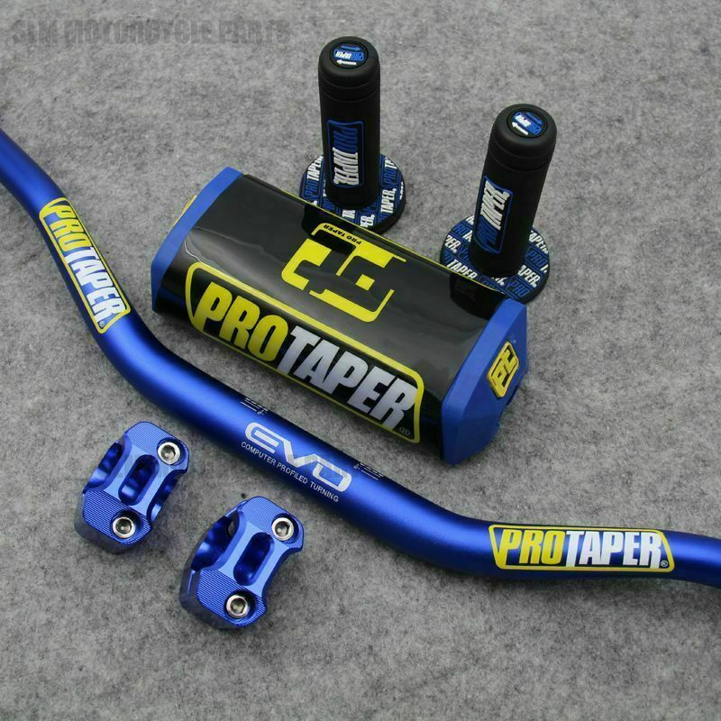 Pro Taper Fat Bar Handlebars Dirt  Bike with Grips Handlebar Pads  best quality best price