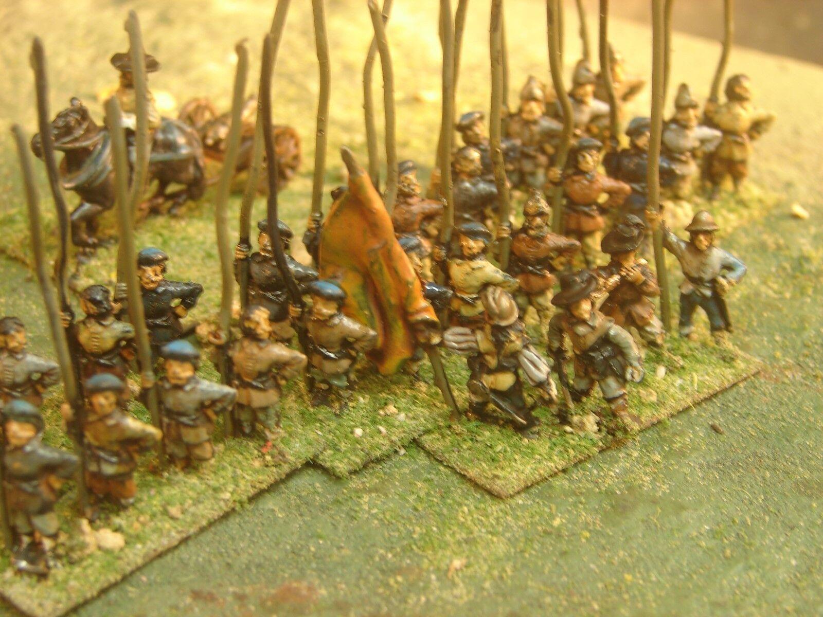 15mm pintadas a mano Ecw escoceses Covenanters Ejército (Essex)
