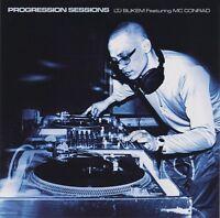 PROGRESSION SESSIONS 4 LTJ BUKEM featuring MC CONRAD 2CD SET 1999 GOOD LOOKING