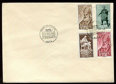 Rio Muni - Enveloppe Fdc 1960 - O 106 Bekwame Vervaardiging