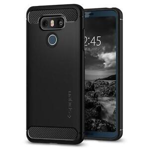 Spigen LG G6 Case Rugged Armor Black