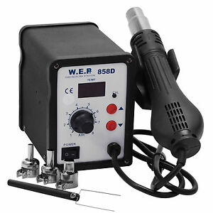 Hot-Air-Gun-Soldering-Rework-Station-Desoldering-Unsoldering-Kit-LED-Display-New