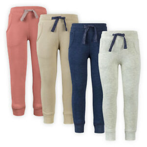 Girls-Kids-Comfort-Cotton-Sweatpants-Athletic-Joggers-Tracksuit-Jogging-Bottoms