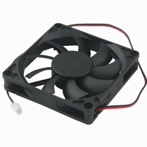 5V 2Pin 8cm 80mm 80x80x15mm 80x15mm Brushless DC Computer CPU Cooling Fan 8015S