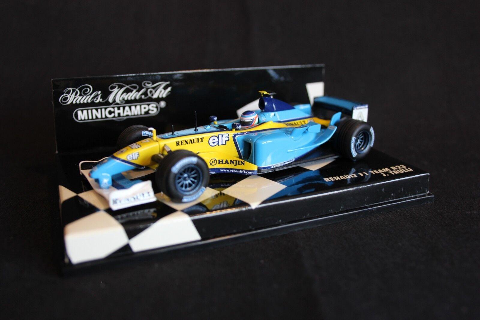 Minichamps Renault F1 Team R23 2003 1 43  7 Giancarlo Fisichella (ITA)