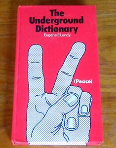 1972 UNDERGROUND DICTIONARY 1500 SLANG WORDS Psychedelic Hippies LSD MARIJUANA