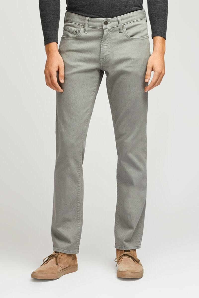 NEW  BONOBOS LA Grey TRAVEL  JEANS  Straight Stretch Cotton  28 32