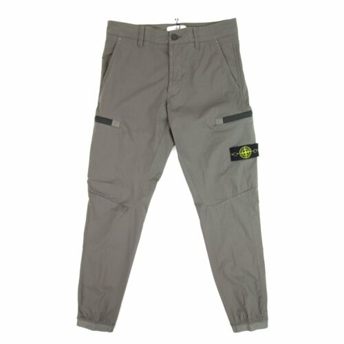 Stone Island Junior Cargo Pants Grey V0060