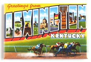 """Greetings from Knoxville Tennessee FRIDGE MAGNET travel souvenir /""""style A/"""""""