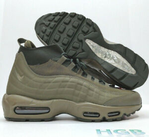 22a2120f5f4d Nike Air Max 95 Sneakerboot Mens Green Olive Sneakers Training ...