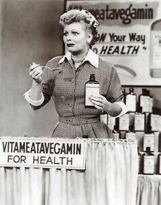 I-Love-Lucy-Lucille-Ball-Vitameatavegamin-8x10-Photo