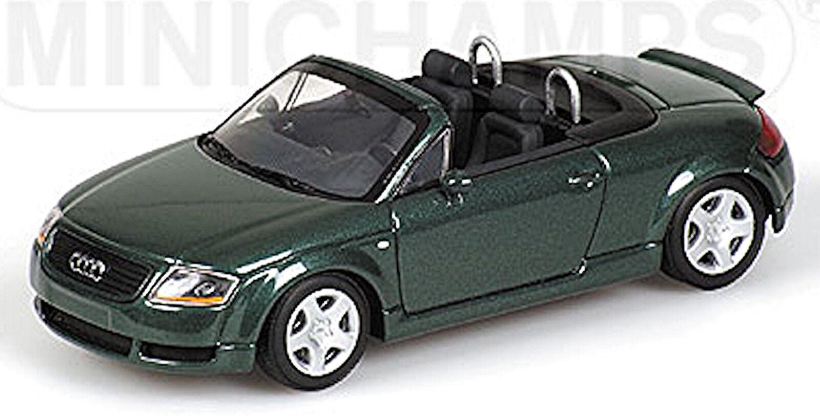 Audi TT Roadster type  8N 1999-2006 vert vert métallisé 1 43 Minichamps