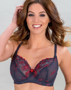 Pour Moi ST TROPEZ UNDERWIRED FULL CUP BRA, Slate/ Women