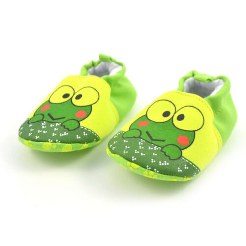 Toddler Infant Girls Boys Cartoon Baby Shoes Flats Soft Slippers Comfy Shoes 9