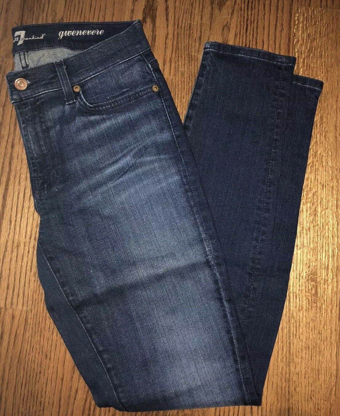 7 for mankind jeans, gwenerve skinny jeans,  Size 27