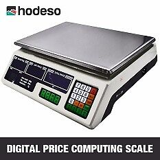 Digital Electronic Price Computing Scale (White)