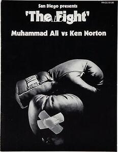 Vintage Muhammad Ali Ken Norton Boxing Poster A3 Print