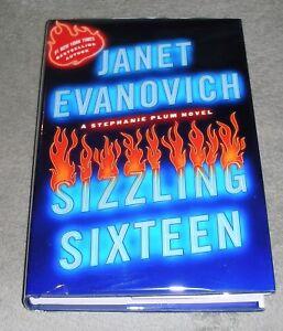 SIZZLING SIXTEEN by Janet Evanovich 2010 HC/DJ ~ 1st Ed