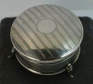 Quality-Hallmarked-Silver-Circular-Jewellery-Box