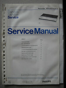 Philips-N2520-Service-Manual