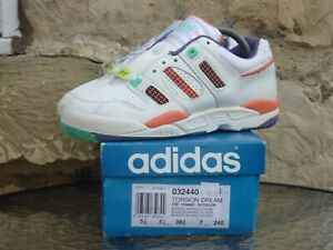 united states 50% off exclusive shoes Details about Vintage 1992 Adidas Torsion Dream UK 5.5 Deadstock BNIB zx  600 500 10000 special