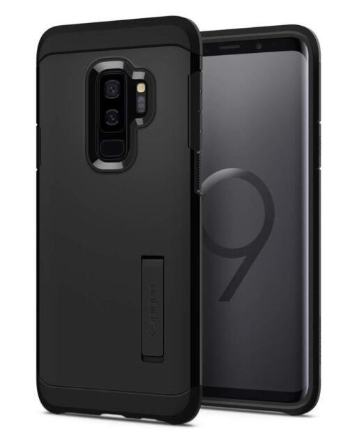 Galaxy S9 Plus Case Spigen Tough Armor with Kickstand - Reinforced Kickstand and