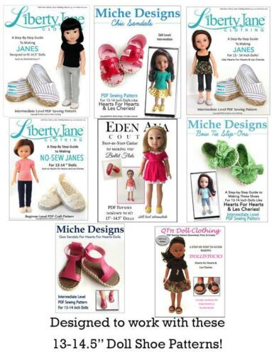 13-14 Inch Doll Pre-cut Shoe Sole SHAPE 2 Foam and Chipboard Color Variety 2