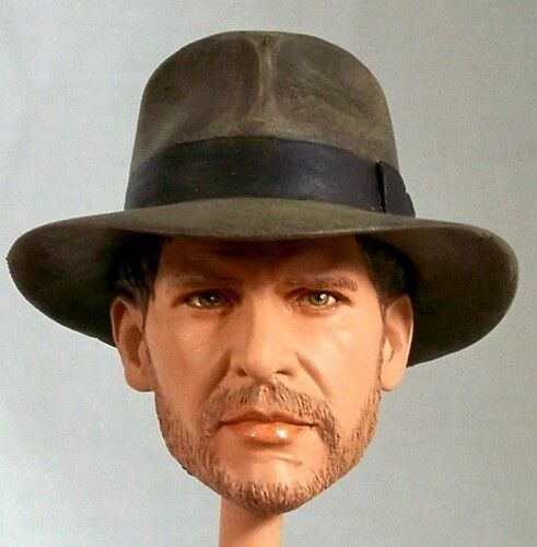 1:6 Custom Head of Harrison Ford as Indiana Jones Temple of Doom