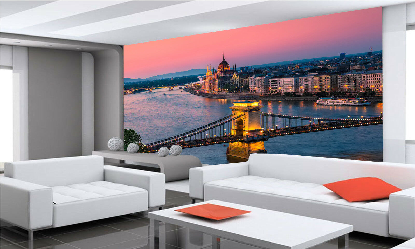 Budapest, Hungary Wall Mural Photo Wallpaper GIANT DECOR Paper Poster Free Paste