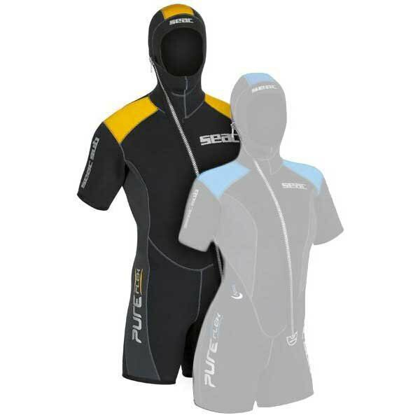 Seacsub Vest Pure Flex Neoprene Wetsuit Short Sleeve 5mm Diving Surf Snorkeling
