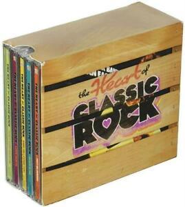 Heart-of-Classic-Rock-Box-Set-Time-Life-10-CD-144-Hits-USA-Made-Shipped