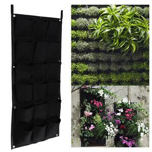 18 taschen pflanzenwand deko blumenkasten balkonkasten - Blumenkasten deko ...