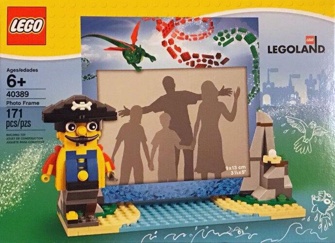 Lego 40389 - cadre photo des pirates - pirates's photo frame