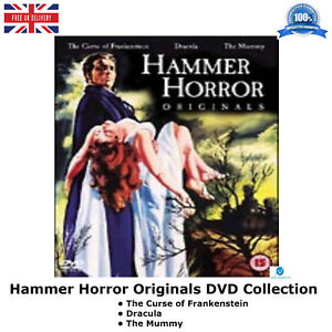 Hammer-Horror-Originals-The-Curse-of-Frankenstein-Dracula-The-Mummy-New-DVD