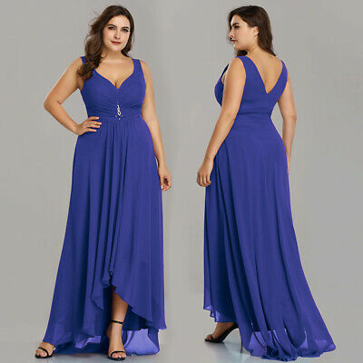 Ever-Pretty Plus Size High-low Dresses Long Formal Wedding Evening Gowns  09983 | eBay