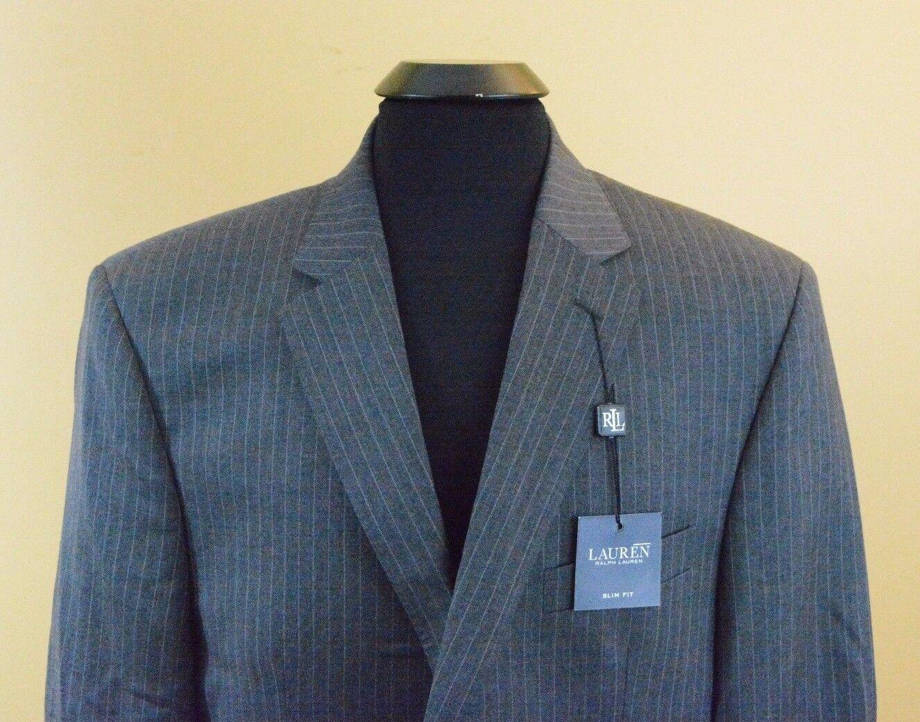 Lauren Ralph Lauren Men's 3 Piece Slim Fit Suit Set
