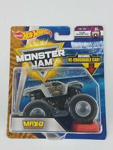 Hot-Wheels-Monster-Jam-Max-D-1-64th-Monster-Truck-Re-crushable-car-Tour-Favorite