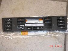 BMW E39 5-Series E53 X5 Genuine Climate Control Panel Bottons,Cap Set AC Heater